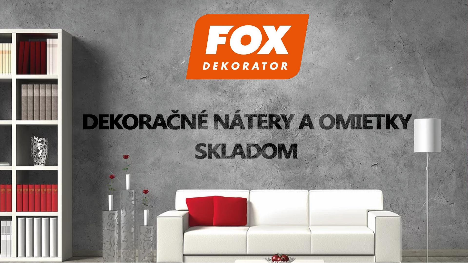 fox dekorator