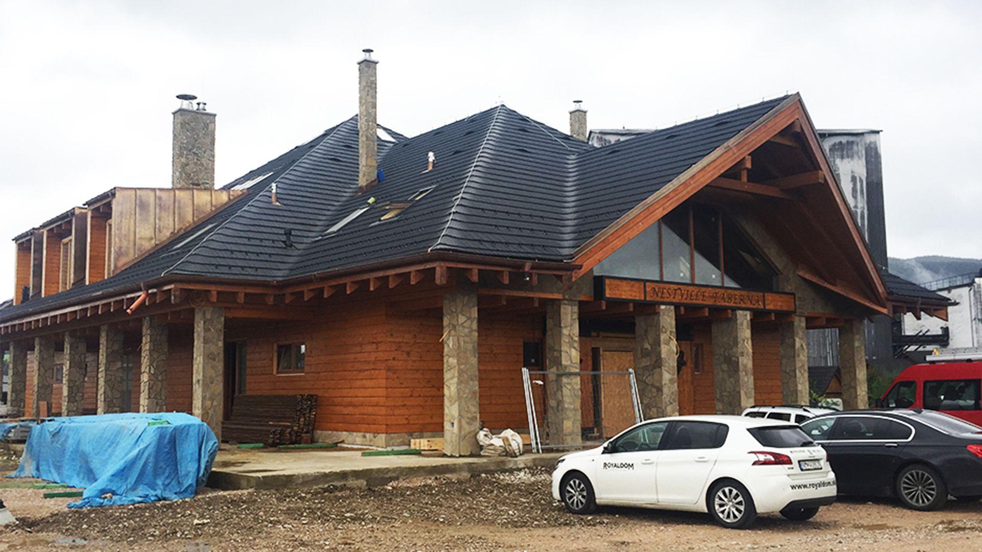 Výstavba Nestville Taberna, Stará Ľubovňa